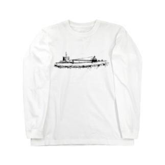 ガット船 ノーマル Long sleeve T-shirts