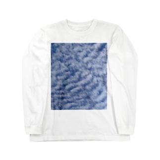 いわし雲photo Long sleeve T-shirts