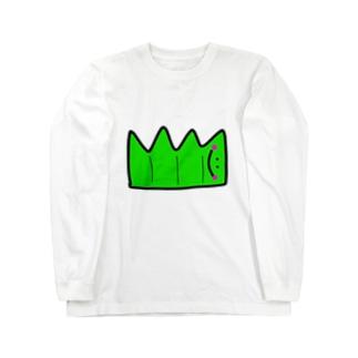 へんてこキャラクター お弁当の『ばらん』🌱💗 Long sleeve T-shirts
