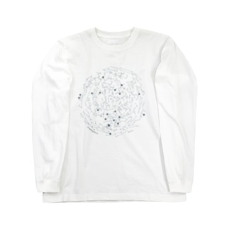 星座早見盤 Long sleeve T-shirts
