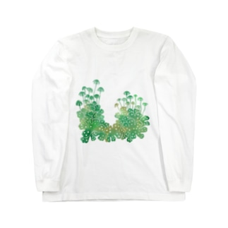 ゼニゴケ Long sleeve T-shirts