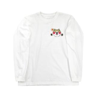 おはよう秋田犬アキラくん Long sleeve T-shirts