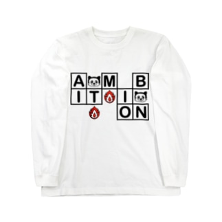 Ambition Long sleeve T-shirts