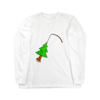 chanAOのツリー Long sleeve T-shirts