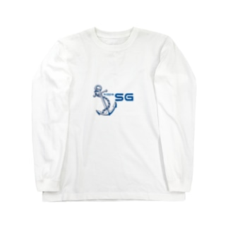 SGロゴ Long sleeve T-shirts