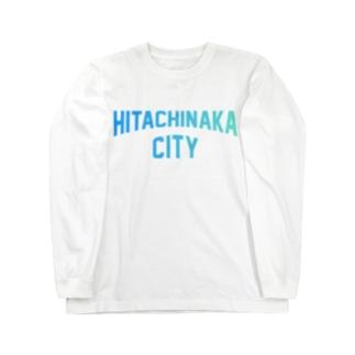 ひたちなか市 HITACHINAKA CITY Long sleeve T-shirts