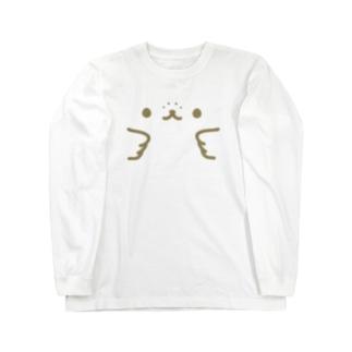 かんザラシフェイス Long sleeve T-shirts