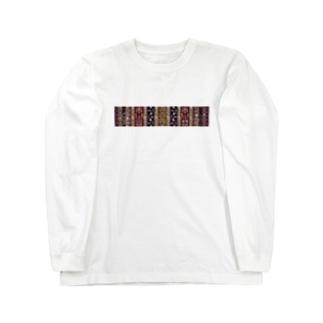 ハンナのペルシャ絨毯 Long sleeve T-shirts