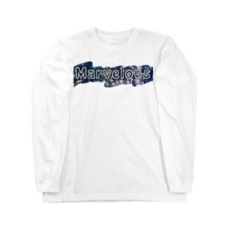響のMarvelousWorld Long Sleeve T-Shirt