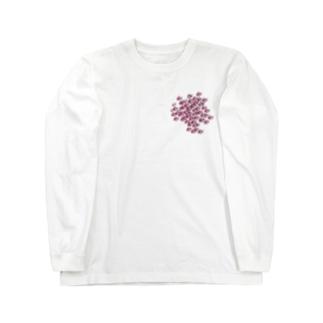 ヒレナガハタ(イナイ) Long sleeve T-shirts