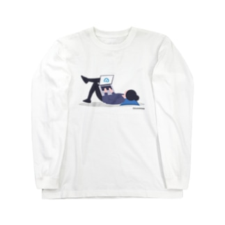 [5th Anniv.]イラスト_Relax Long sleeve T-shirts