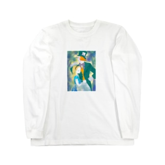 アリスとハッター Long sleeve T-shirts