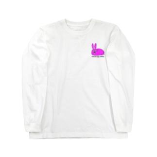神社のうさぴょん Long sleeve T-shirts