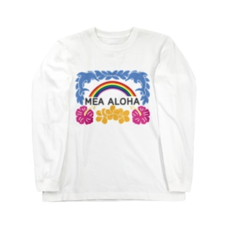 MEA ALOHA・メアアロハ Long sleeve T-shirts