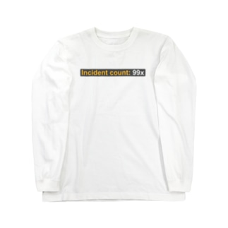 Incident count: 99x Long sleeve T-shirts
