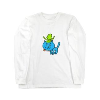 @IKANEKO.AKIRA Long sleeve T-shirts