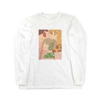 ゆるふわ女子tシャツ Long sleeve T-shirts
