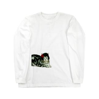 大物アイドルぐう子 Long sleeve T-shirts