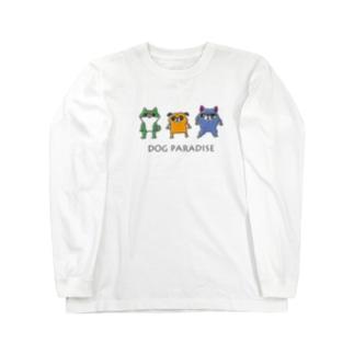DOG PARADISE Long sleeve T-shirts