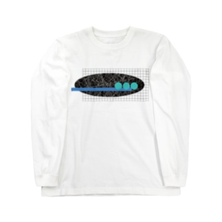 マルシカク Long sleeve T-shirts