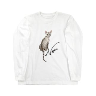 猫 Neco Long sleeve T-shirts
