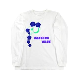 DECLINE ROSE Long sleeve T-shirts