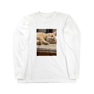 ニャーニュー Long sleeve T-shirts