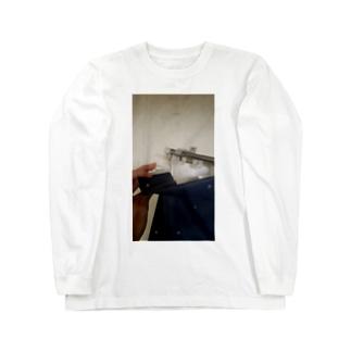 𒅒𒈔﷽𒈙꧅ဪ🔯🧪魔法的科学少女Юрико Цунака🧪🔯ဪ꧅𒈙﷽𒇫𒄆の後醍醐天皇の子孫のカーテン、指を添えて Long sleeve T-shirts