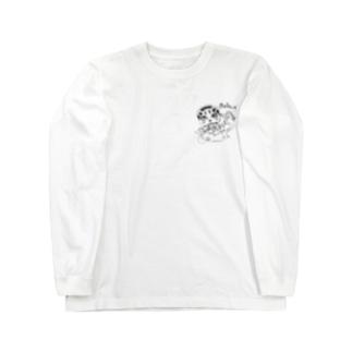 nokuの2nd億利人チャンネルグッズ Long sleeve T-shirts