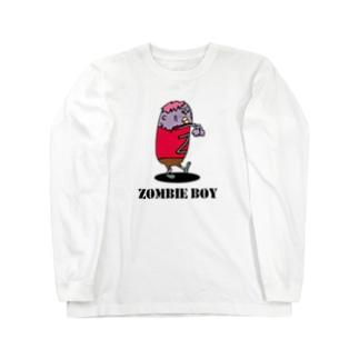 ゾンビ少年 Long sleeve T-shirts
