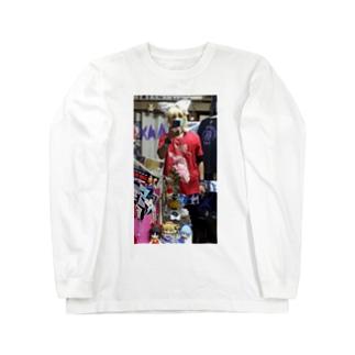鏡音リン(鏡音鈴)中華 Long sleeve T-shirts