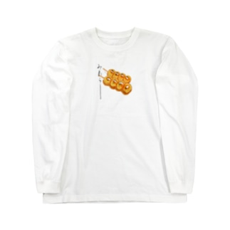 みたらし団子 書入り Long sleeve T-shirts