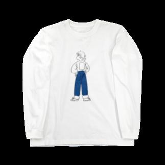 デニムガール ロングスリーブTシャツ