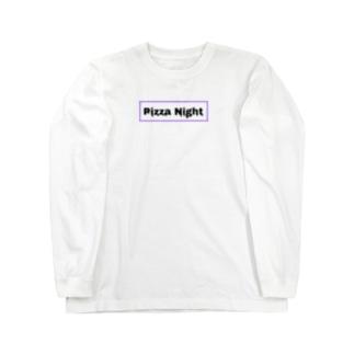 Pizza Night Drop Long Sleeve T-Shirt