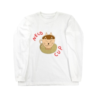NECO CUP (色の変更可) Long sleeve T-shirts