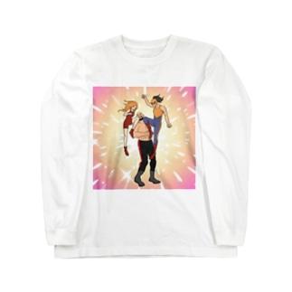 ツープラトンのニーパット Long sleeve T-shirts