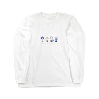 lneoの少女たちver.文字入り Long sleeve T-shirts