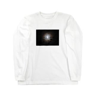 月夜 Long sleeve T-shirts