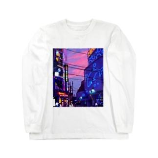 YouStoreの大鯨大商店通り Long sleeve T-shirts