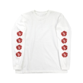 camellia Long sleeve T-shirts