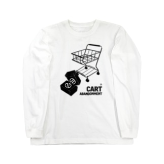 WEBPLAのCART ABANDONMENT Long sleeve T-shirts