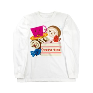 sweets time-スイーツタイム- Long sleeve T-shirts