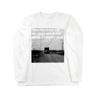 カントリーロード Long sleeve T-shirts