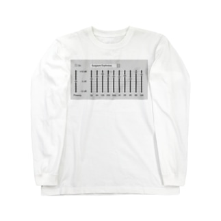 TuneBsideのイコライザ Long sleeve T-shirts