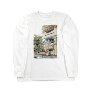 台湾路地裏散歩 Long sleeve T-shirts