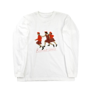 Running Girls Long sleeve T-shirts