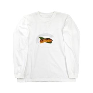 紅鮭 Long sleeve T-shirts