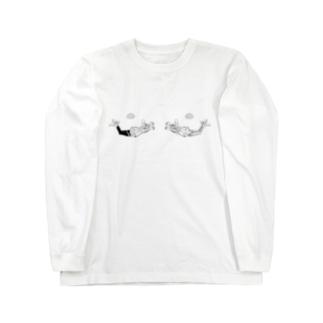 おパイじゃないよ ダイブ編 Long sleeve T-shirts