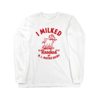 MATHIS DAIRY Long sleeve T-shirts