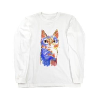 どら猫 Long sleeve T-shirts